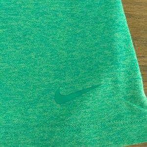 Nike Dri-Fit Green Racerback Tank Sz S